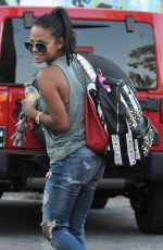 CHRISTINA MILIAN at Her Pop Up Shop in Los Angeles 08/12/2015