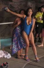 CHRISTINA  MILIAN at the Go Pool at Flamingo in Las Vegas 08/08/2015