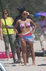 CHRISTINA MILIAN in Bikini on the Set of Grandfathered in Malibu 08/10/2015