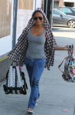 CHRISTINA MILIAN Out and About in West Hollywood 08/29/2015