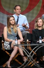 CHYLER LEIGH at Supergirl Panel at 2015 Summer TCA Tour in Beverly Hills