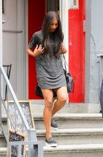 CIARA Leaves a Nail Salon in Soho 08/19/2015