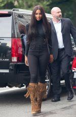 CIARA Leaves IMG Models Office in New York 08/11/2015