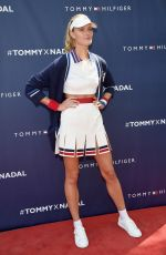 CONSTANCE JABLONSKI at Tommy Hilfiger and Rafael Nadal Launch Global Brand Ambassadorship in New York