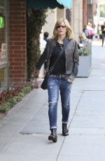 COURTNEY THORNE-SMITH Out and About in Beverly Hills 08/19/2015