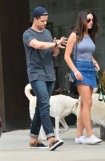 CRYSTAL REED Out and About in Los Angeles 06/08/2015