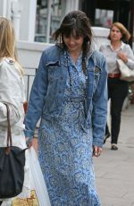 DAISY LOWE Out Shopping in London 08/05/2015