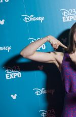DAISY RIDLEY at 2015 D23 Expo It