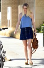 DAKOTA FANNING Out and About in Beverly Hills 08/17/2015