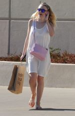 DAKOTA FANNING Out and About in Los Angeles 08/09/2015
