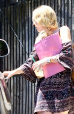 DAKOTA FANNING Out and About in Studio City 08/14/2015