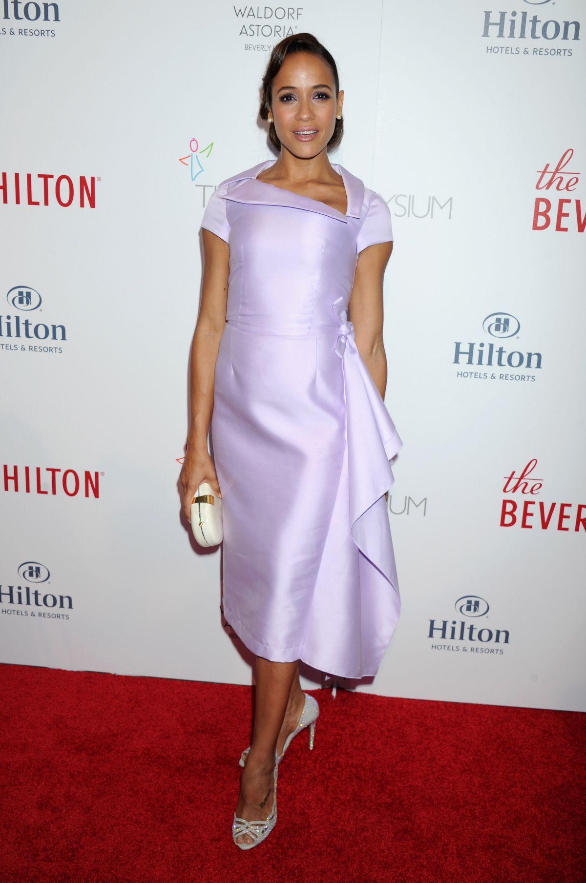 DANIA RAMIREZ at Beverly Hilton 60 Years Diamond Anniversary Party