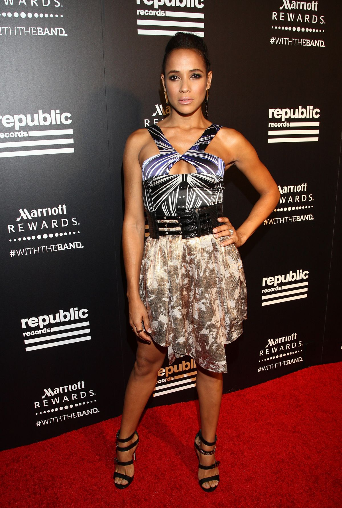DANIA RAMIREZ at Rpublic Records VMA After-party in West Hollywood