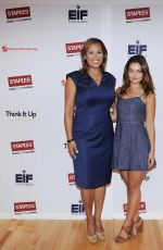 DANIELLE CAMPBELL at Staples Think It Up Press Conference in Atlanta