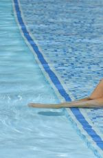 DAPHNE JOY and SHANTAL ZALES in Bikinis at a Pool in Las Vegas