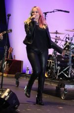 DEBBY RYAN Performs at the Orange County Fair in Costa Mesa