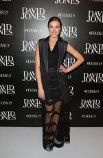 DEMI HARMAN at David Jones Spring/Summer 2015 Fashion Launch in Sydney