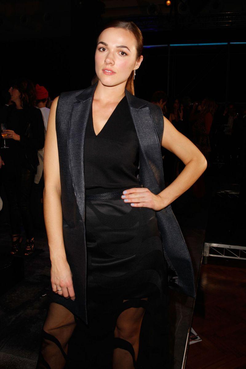 SAMARA WEAVING at David Jones Spring/Summer 2015 Fashion