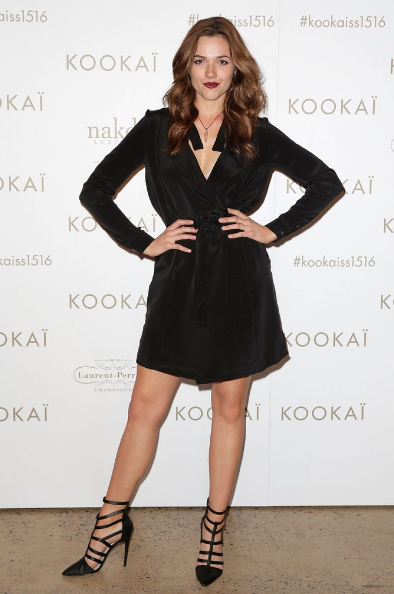 DEMI HARMAN at Kookai Spring/Summer 2016 Runway Show in Sydney 08/19/2015