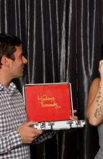 DEMI LOVATO at Her Wax Figure Launch at Madame Tussaud Museum in Hollywood