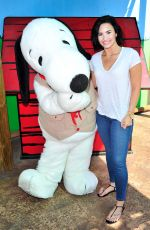 DEMI LOVATO Celebrates Her 23rd Birthday at Knott