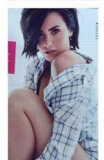 DEMI LOVATO in Cosmopolitan Magazine, September 2015 Issue
