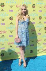 DOVE CAMERON at 2015 Teen Choice Awards in Los Angeles