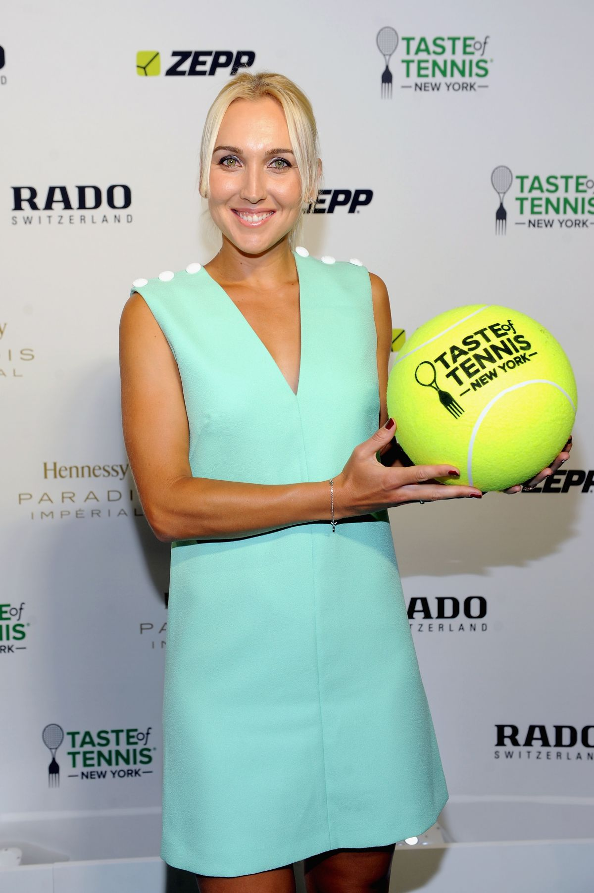 ELENA VESNINA at Taste of Tennis Gala in New York
