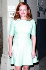ELISABETH MOSS Night Out in New York 08/20/2015