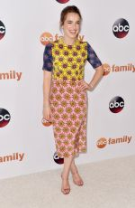 ELIZABETH HENSTRIDGE at Disney ABC 2015 Summer TCA Tour in Beverly Hills