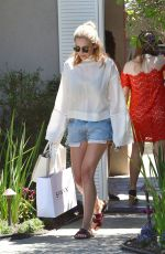 ELIZABETH OLSEN at Pre Teen Choice Awards Gifting Suite in Brentwood