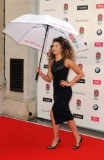 ELLA EYRE at Carry Them Home England Rugby Team Dinner in London