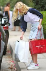ELLE FANNING Out and About in Hollywood 08/06/2015