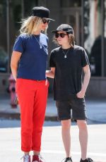 ELLEN PAGE and SAMANTHA THOMAS Out and About in New York 08/03/2015