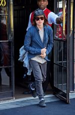 ELLEN PAGE Leaves The Bowery Hotel in New York 08/05/2015