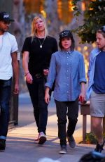 ELLEN PAGE Out for Dinner in New York 08/04/2015