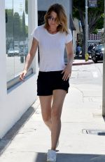 ELLEN POMPEO in Shorts Out and About in West Hollywood 08/05/2015