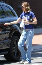 ELLEN POMPEO Out and About in Beverly Hills 08/03/2015