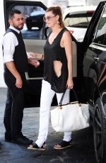 ELLEN POMPEO Out and About in Beverly Hills 08/21/2015