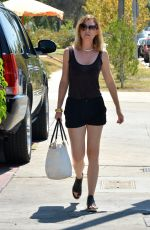 ELLEN POMPEO Out and About in Beverly Hills 08/28/2015