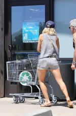 ELSA PATAKY in Tank Top and Shorts Out in Malibu 08/12/2015