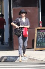 EMILY BLUNT Out Shopping in Los Angeles 08/27/2015