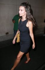 EMILY RATAJKOWSKI Arrives at The Today Show in New York 08/19/2015