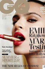 EMILY RATAJKOWSKI in GQ Magazine, UK September 2015 Issue