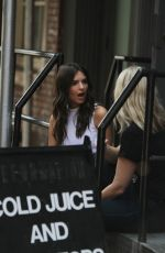 EMILY RATAJKOWSKI in Jeans Out in New York 08/18/2015
