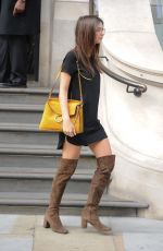 EMILY RATAJKOWSKI Out And About in London 08/10/2015