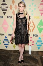 EMMA ROBERTS at Fox/FX Summer 2015 TCA Party in West Hollywood