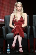 EMMA ROBERTS at Scream Queens Panel at 2015 Summer TCA Tour in Beverly Hills