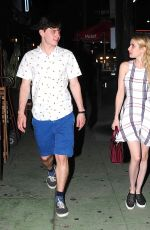 EMMA ROBERTS Night Out in West Hollywood 08/22/2015