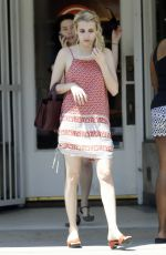 EMMA ROBERTS Out and About in New Orleans 08/01/2015
